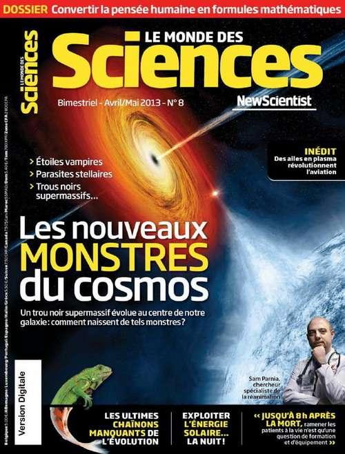 Le Monde des Sciences N°8 Avril Mai 2013
