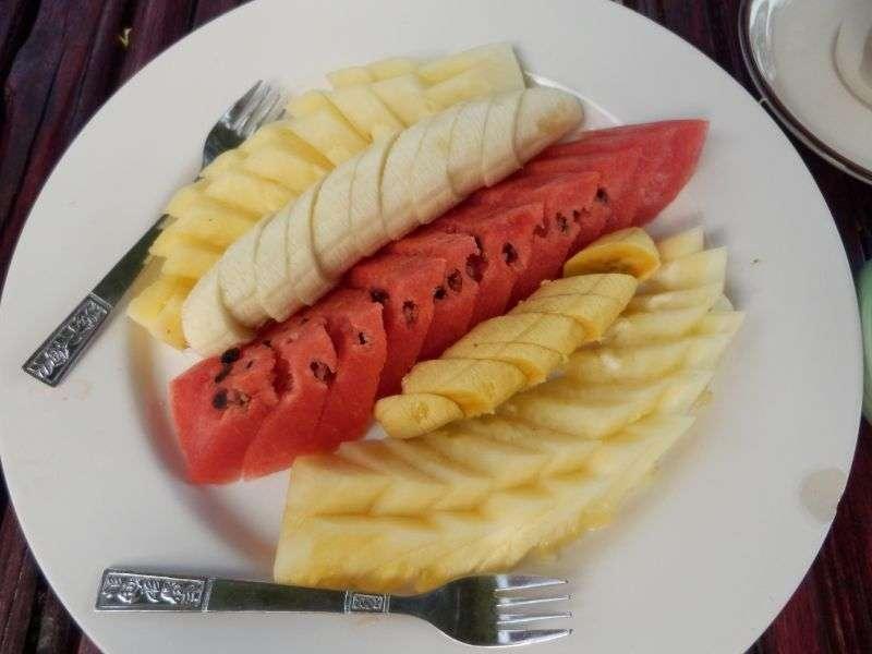 ein schöner Früchteteller