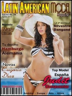 "Latin American Model – Agosto 2013/Judit Bemavente""Top Model España"" en PDF"