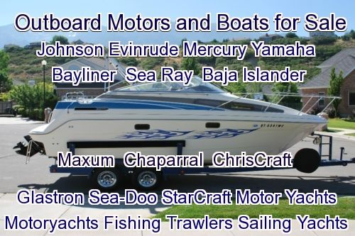 outboard motor and boat sales