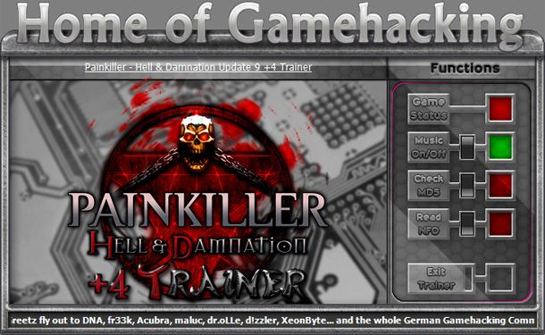 Painkiller: Hell and Damnation v1.9 +4 Trainer [HoG]