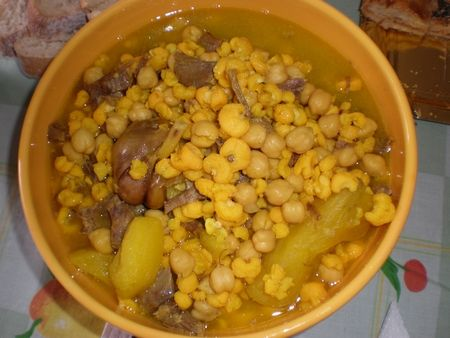 Caldo de millo Josefa