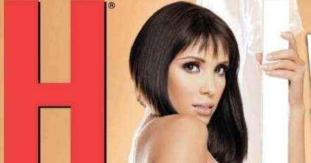Andrea Escalona en portada de la revista H