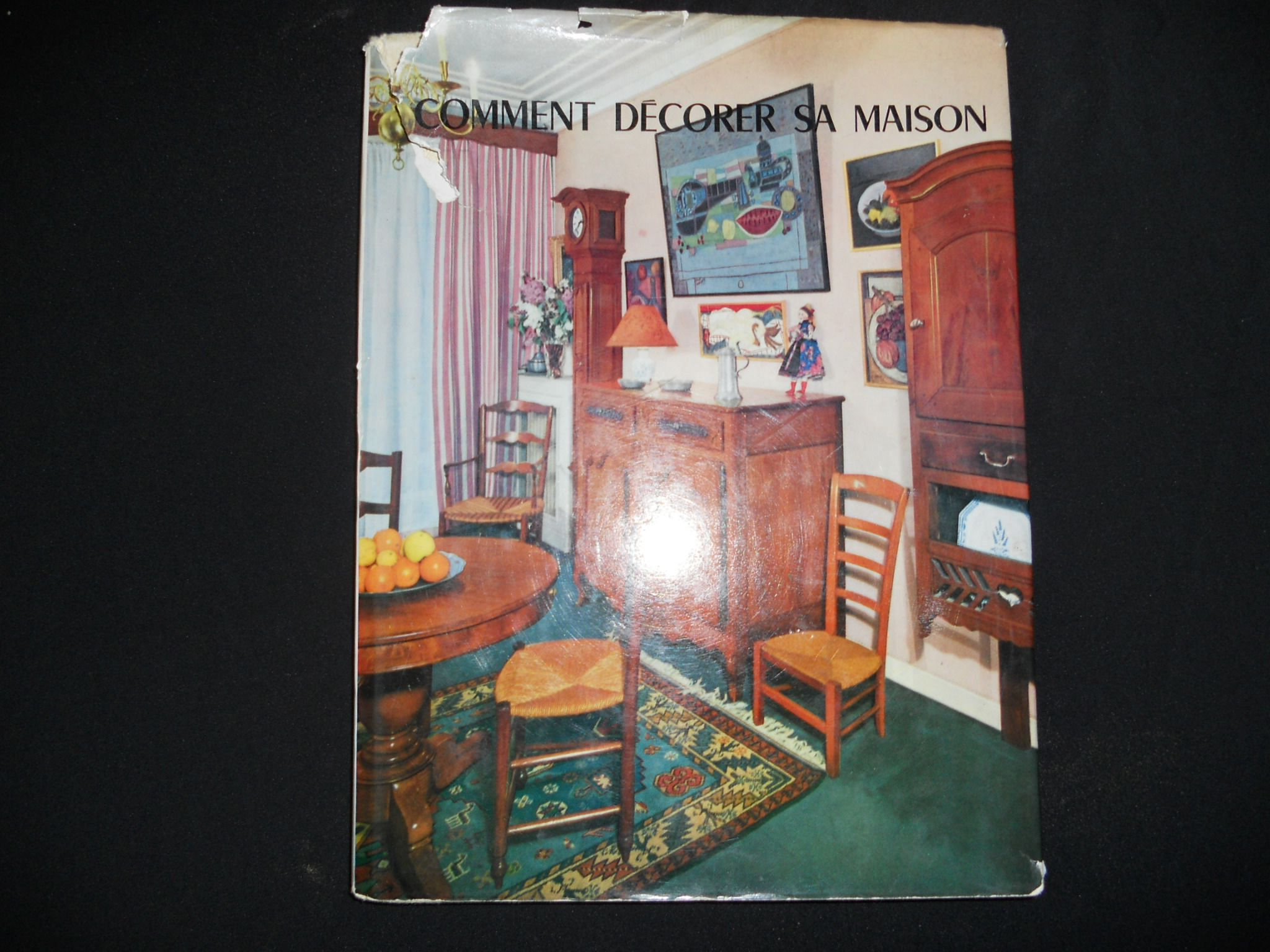 libro d 39 antiquariato comment decorer sa maison editions charles massin ebay. Black Bedroom Furniture Sets. Home Design Ideas
