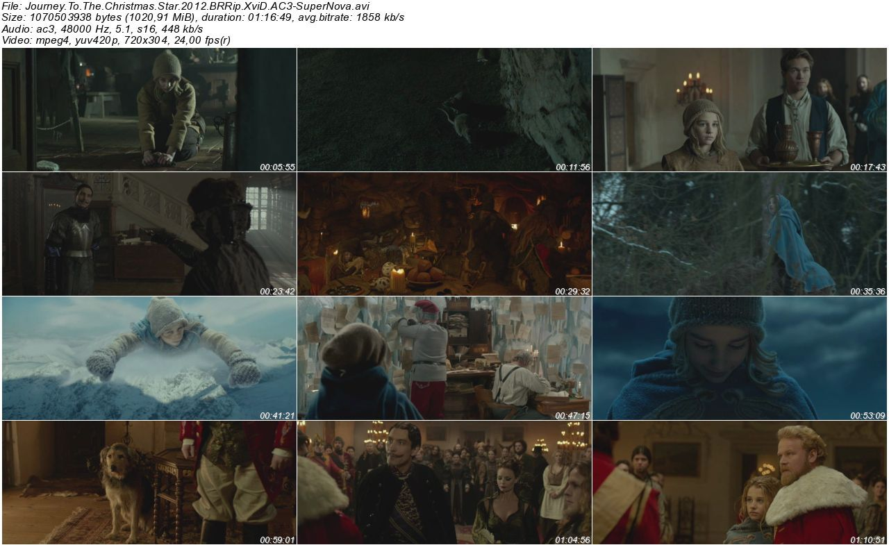 Journey To The Christmas Star - 2012 BRRip XviD AC3 - Türkçe Altyazılı Tek Link indir